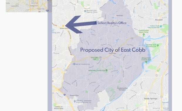 Proposed City of East Cobb Sellect Realty